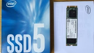sSD intel M.2 80mm SATA 240GB Unboxing - ССД Диск