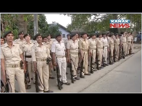 Security March By CRPF & Bihar Police Ahead Of Third Phase Of Loksabha Polls