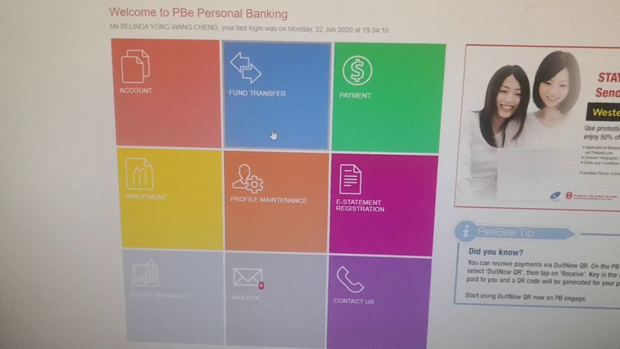 how to pay prudential maybank2u