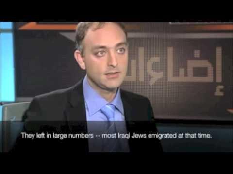 Joseph Braude on Middle Eastern Jewish history جوزيف براودي عن تأريخ اليهود في العالم العربي