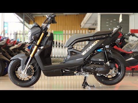 New Honda Zoomer-x 110 cc. 2019 Black