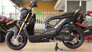 Download Video New Honda Zoomer-x 110 cc. 2019 Black MP3 3GP MP4