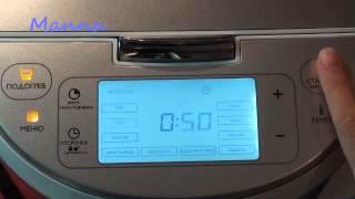 Гречневая молочная каша в мультиварке Philips HD3095