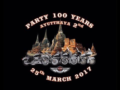PARTY 100 YEARS Harley-Davidson AYUTTHAYA 2 Thailand 25 MARCH 2017
