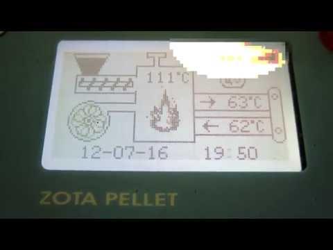 Обзор пеллетного котла Zota pellet