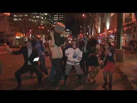 BT Edmonton: Brings The Harlem Shake To Jasper Avenue!