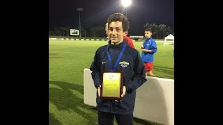 Zachary Barbatano goals at FFA National Youth Championships 2015