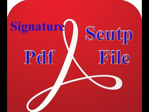 how to add electronic signature to pdf adobe reader