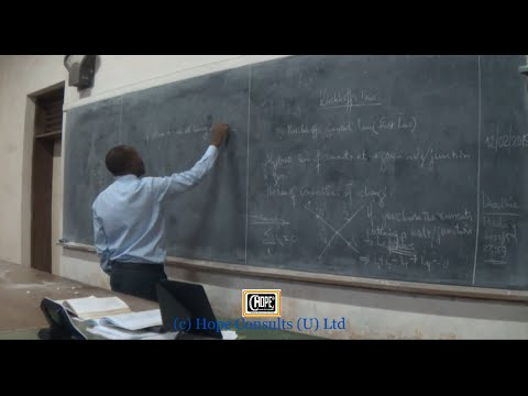 Electronics Lecture Six - Kirchhoff's Laws