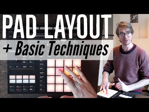 Basic finger drumming technique + pad layout in 3 minutes