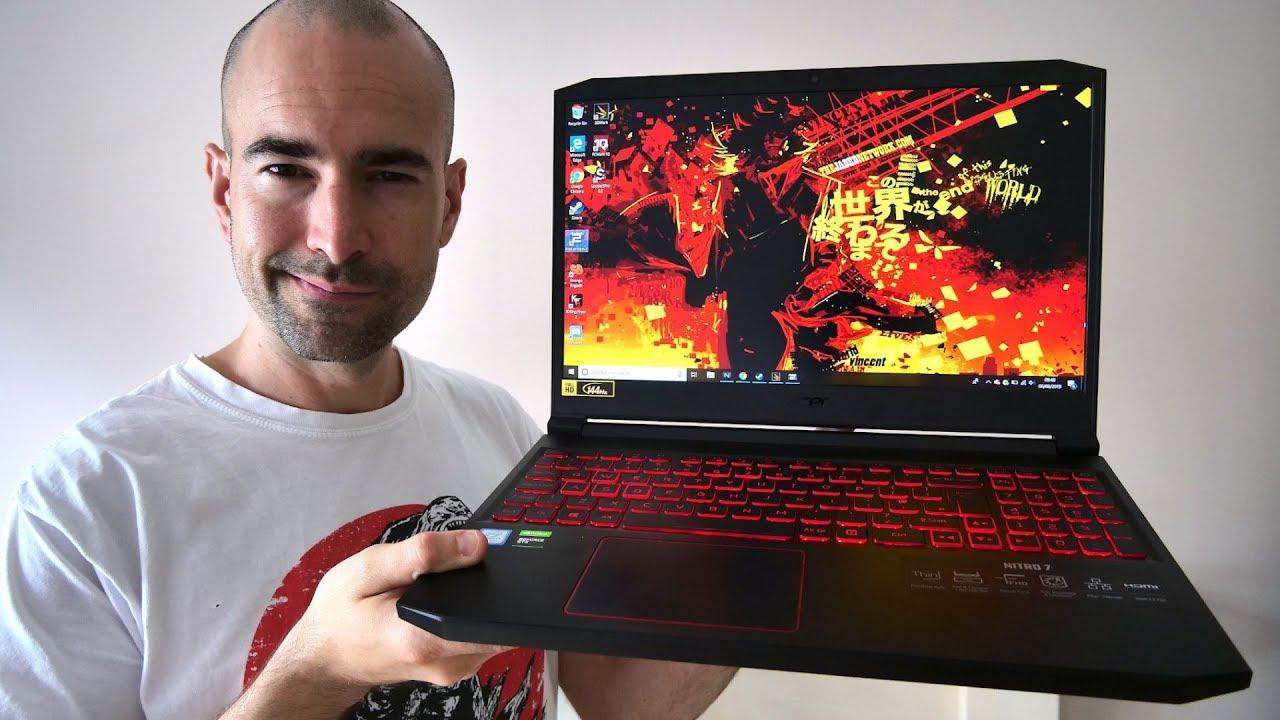 Acer Nitro 7 (2019) Review   Super-Slim Gaming Laptop