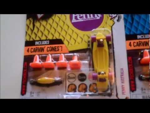 Tech Deck Fingerboards Penny Decks find at Toys R Us