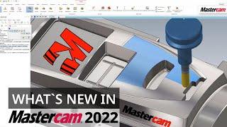 Mastercam 2022: Optimierung der Schnittreihenfolge beim 3D-HSC-Blendfräsen   CAD/CAM-Software