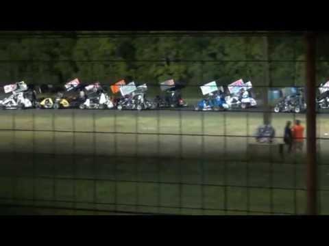 5-24-2014 Feature Gulf Coast Speedway 600 class