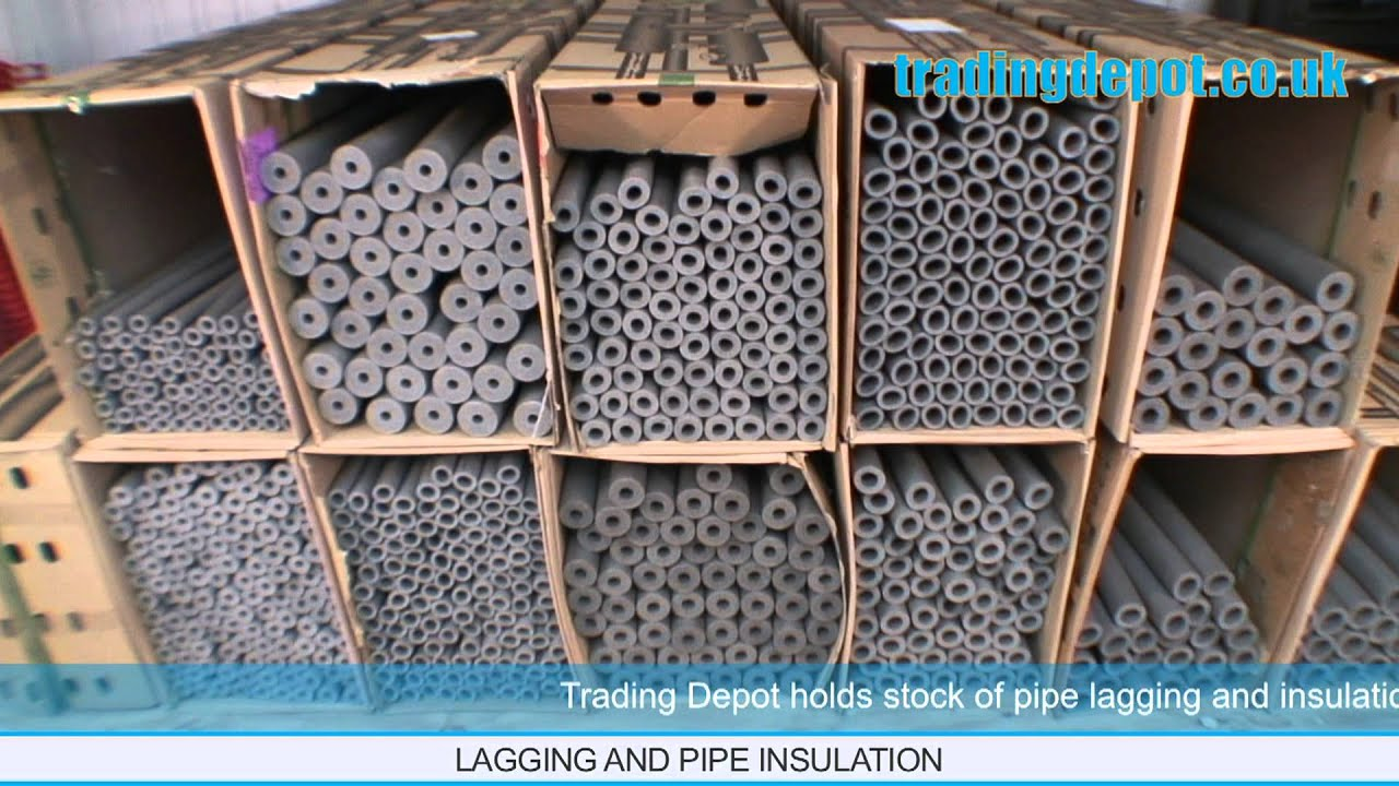 Trading depot climaflex lagging copper pipe insulation for How to insulate copper pipes