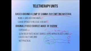 6 - Cobalt 60 teletherapy unit principles