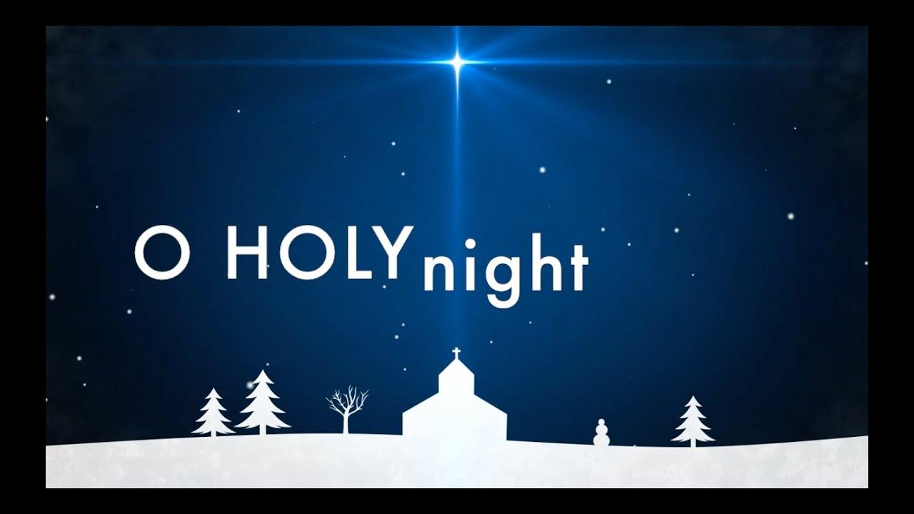 O Holy Night w/ Lyrics...O Holy Night Background
