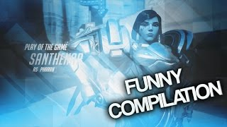 overwatch play of the game   funny meme parody compilation