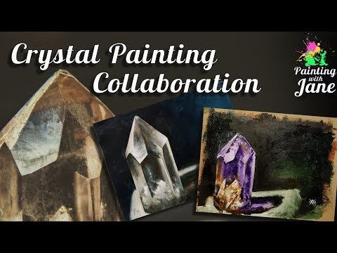 Painting A Crystal With My Tattoo Artist, Will XX!