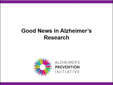 StudyTalks: Good News in Alzheimer's Research