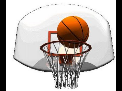 Баскетбол гифка для презентации, днем