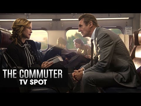 "The Commuter (2018 Movie) Official TV Spot ""Doesn't Belong"" - Liam Neeson, Vera Farmiga"