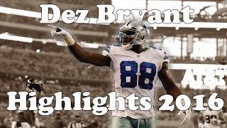 Dez Bryant Highlights 2016-17   