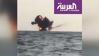 القوات السعودية تدمر زورق مفخخ حاول التسلل إلى جازان