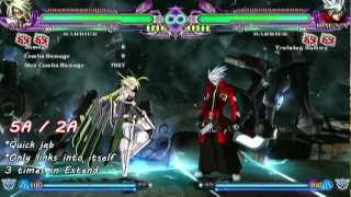 BlazBlue: Continuum Shift Extend - λ-11 Tutorial Video (1/3)