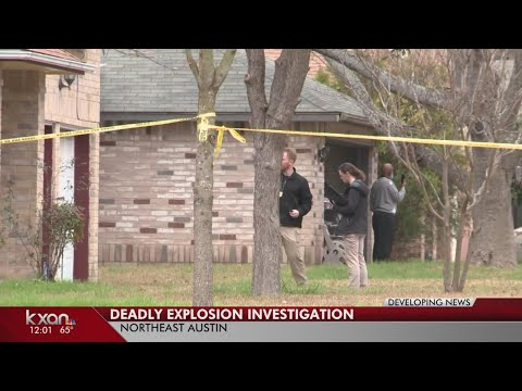 FBI, ATF and local police investigating deadly Austin explosion