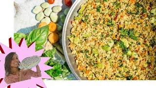 Paella Vegana - Paella Vegetariana