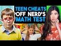 Teen CHEATS off of NERDS Test, End is INSANE! | Dhar Mann Reaction