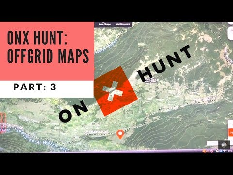 How I Use The Hunt App - OnX  NO CELL SERVICE