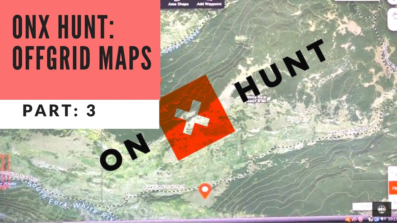 Onx Hunt Maps onX Hunt Maps Tutorial | Part 3: NO CELL SERVICE   YouTube Onx Hunt Maps