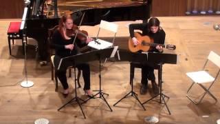 Petr Švantner: Variace pro violu a kytaru | Koncert odd. skladby | 8.4.2015