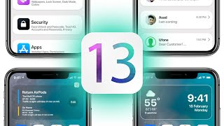 iOS 13 - New Features & Re-Design!