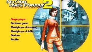 No One Lives Forever 2 gameplay PC Last Level and Final Boss Fight