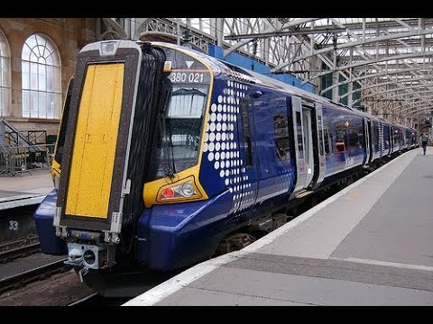 Train Simulator 2014 Class 380 Emu Cab Ride Glasgow