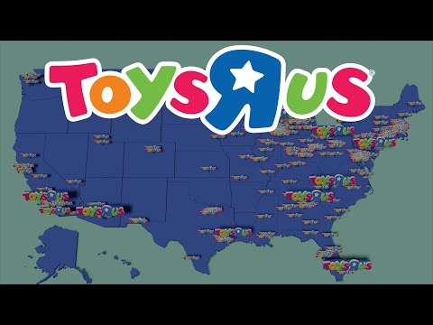 Map Of The Rise And Fall Of Toys