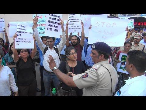 Mumbai Stands With JNU, Soni Sori & Rohith Vemula