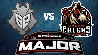 G2 vs DreamEaters (Overpass) Highlights - StarLadder Berlin Major