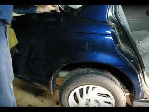 Quarter Panel Removal Youtube