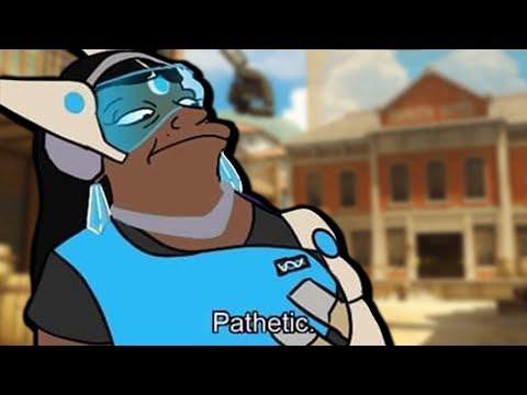 PATHETIC! Overwatch Funny & Epic Moments 812