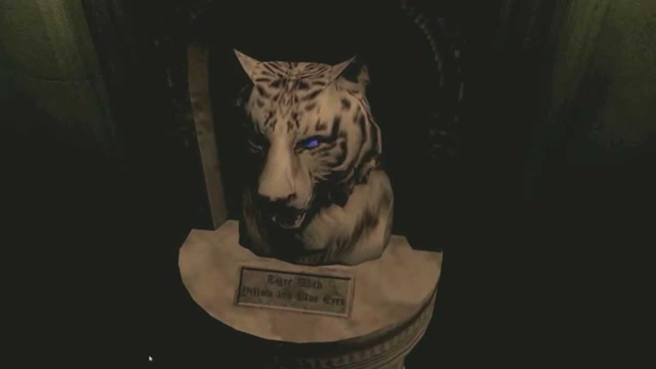 resident evil hd remaster remake blue gem eye of tiger youtube