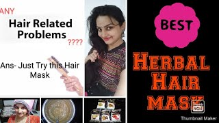 How to get silky hair herbal hair mask for hair growth hair pack how to control hair fall