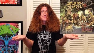 """Municipal Waste """"The Fatal Feast"""" Review (Mosh Pit and the Pendulum)"""
