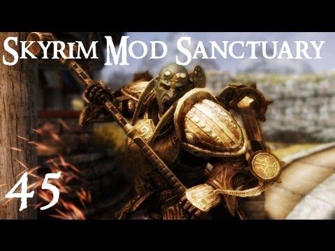 Skyrim Mod Sanctuary 45 : Dwarven Dwemer Power Armor And Exoskeleton