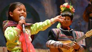 Sorprendente niña talento - Deysi del Peru - Palomachata uywakurani - parte 1/2