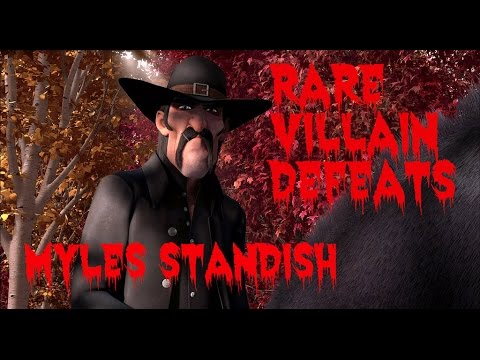 Rare Villain Defeats: Myles Standish