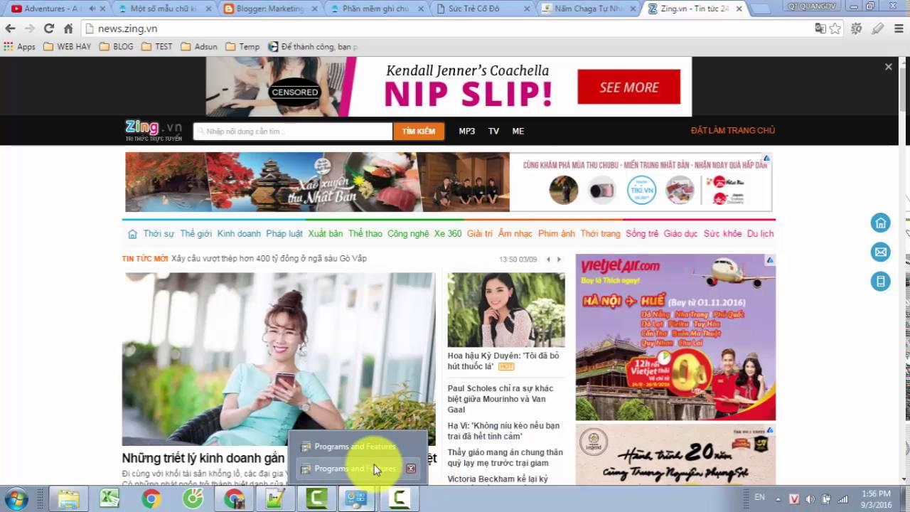 Virus tự động chèn quảng cáo vào đầu trang web – Cách khắc phục